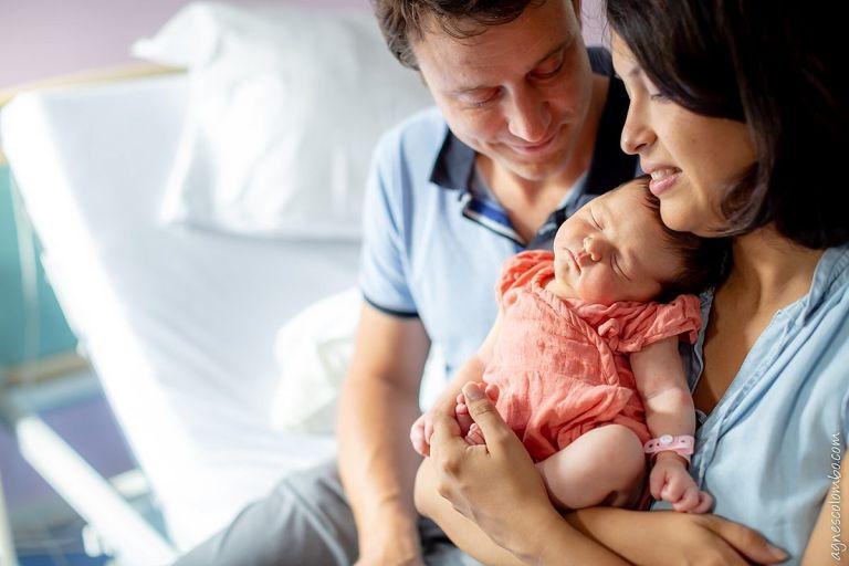 Photographe maternité Clinique des Franciscaines Versailles
