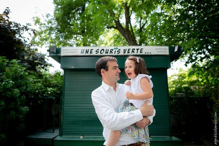 Seance famille estivale à Paris