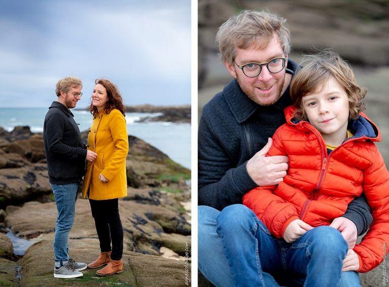 Photographe famille en Bretagne
