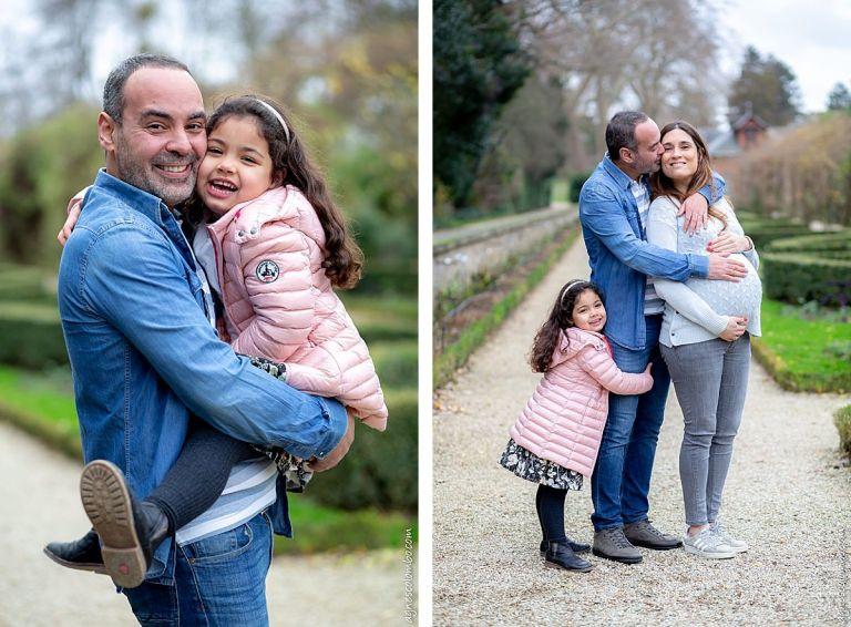 Photo grossesse en famille Paris