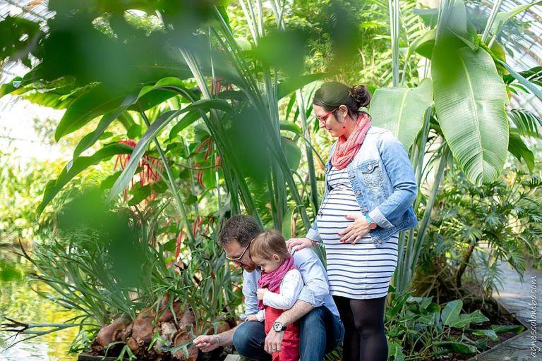 Photos de grossesse en famille Paris