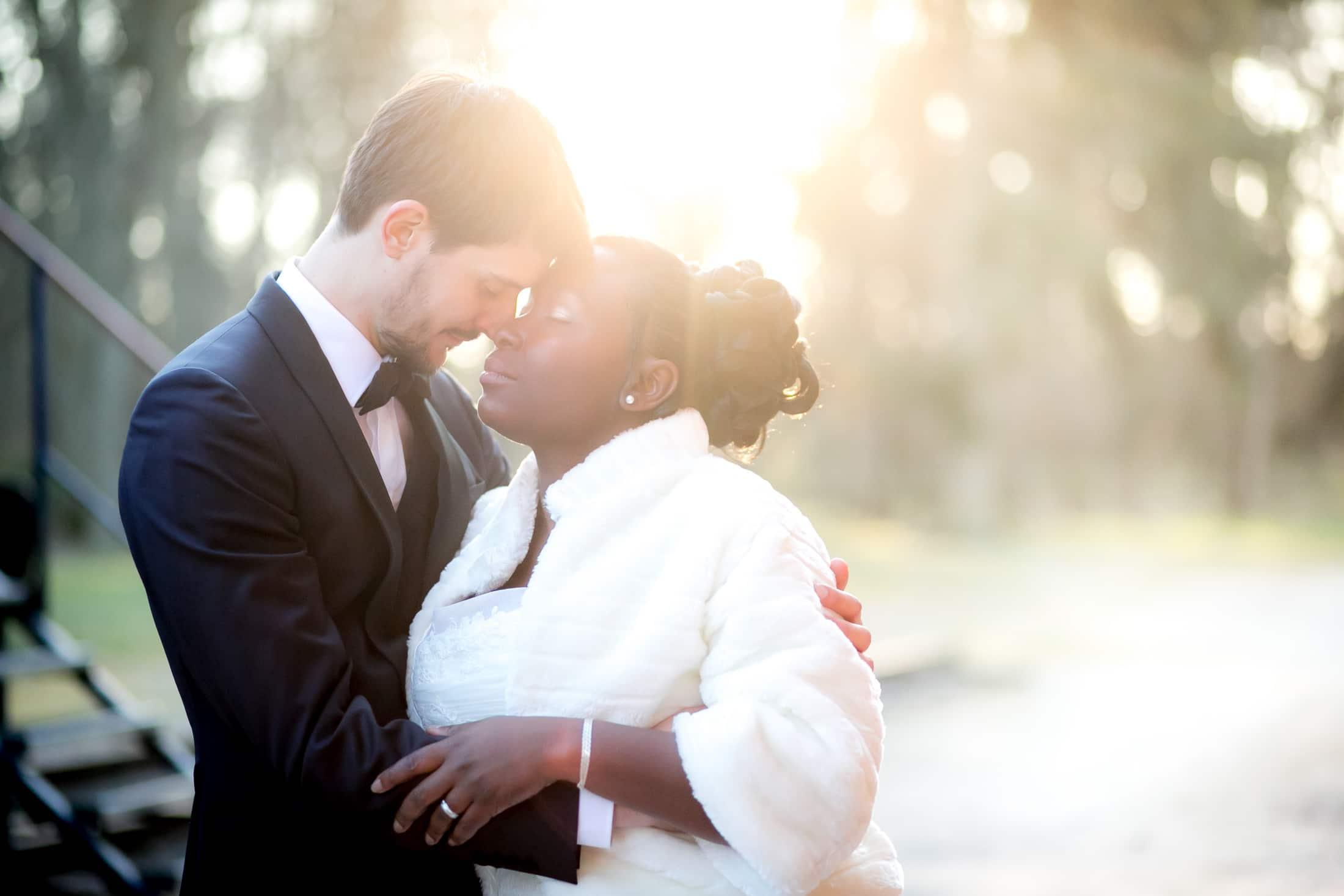 photo de mariés paris
