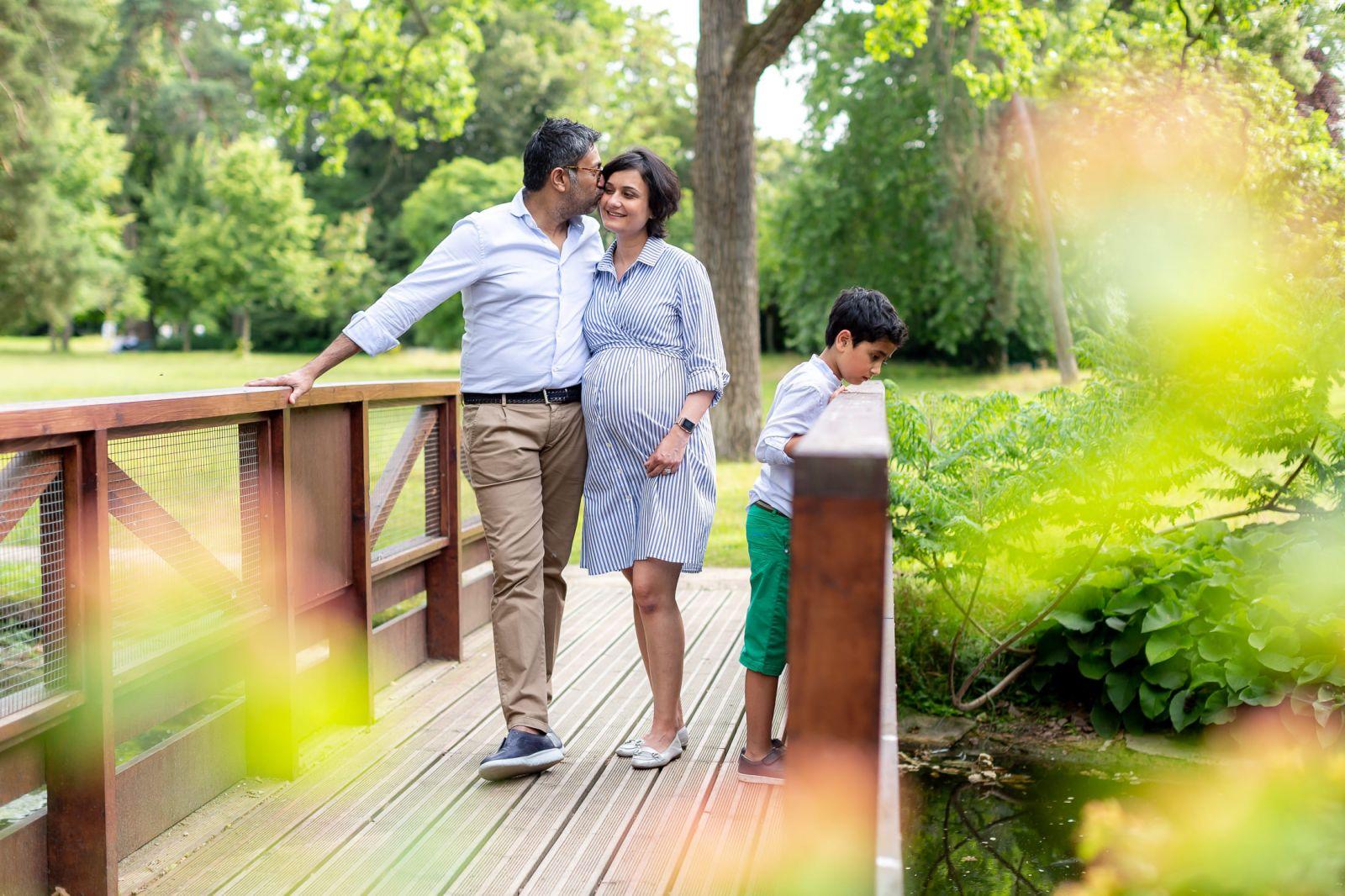 photographe grossesse en famille paris agnes colombo