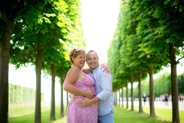 Photos de grossesse en couple paris