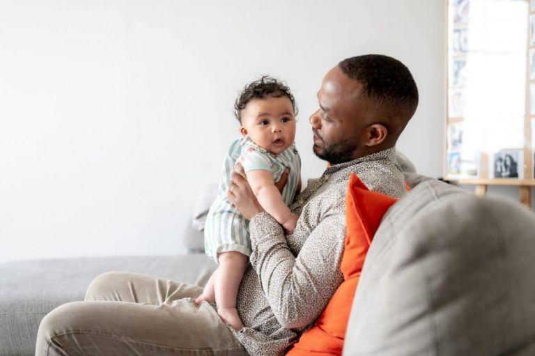 photo père et fils