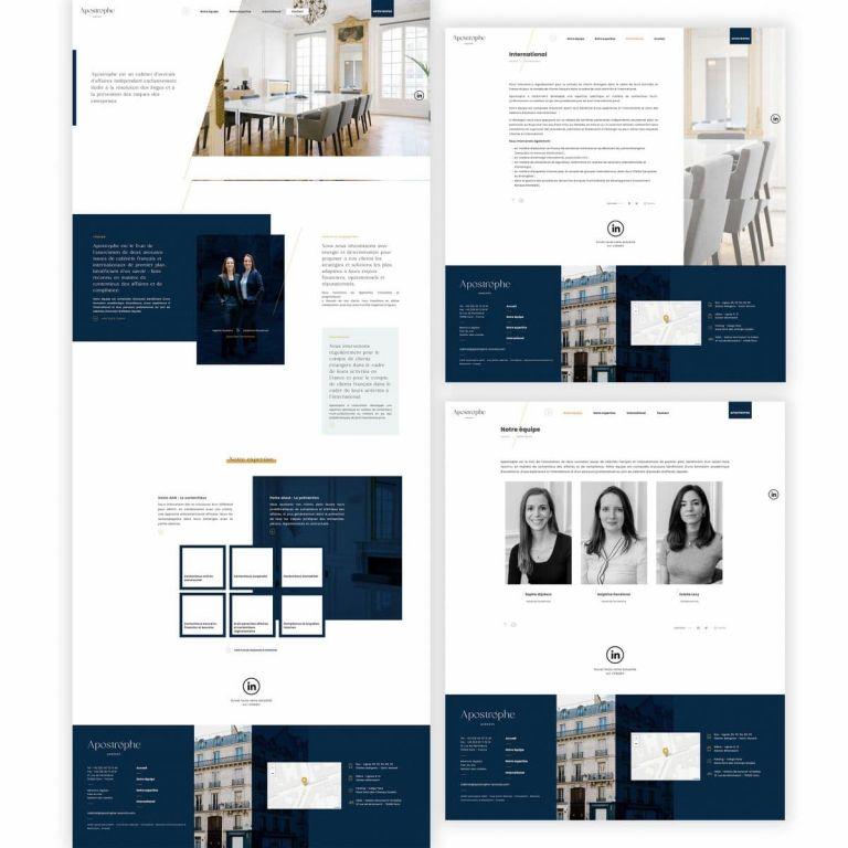 Cabinets d'avocats des photos pour illustrer votre site internet